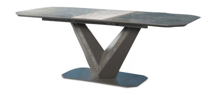 Torelli Bellagio Ceramic Ext Dining Table Grey - 180-220cm - AR Furnishings - Specialists In Bringing Luxury Into Your Home.