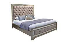 "Load image into Gallery viewer, Jessica 5'0"" King Size Bed Frame"