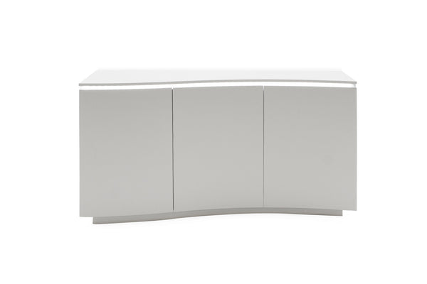 Lazzaro Sideboard - White Gloss with LED - AR Furnishings - Specialists In Bringing Luxury Into Your Home.