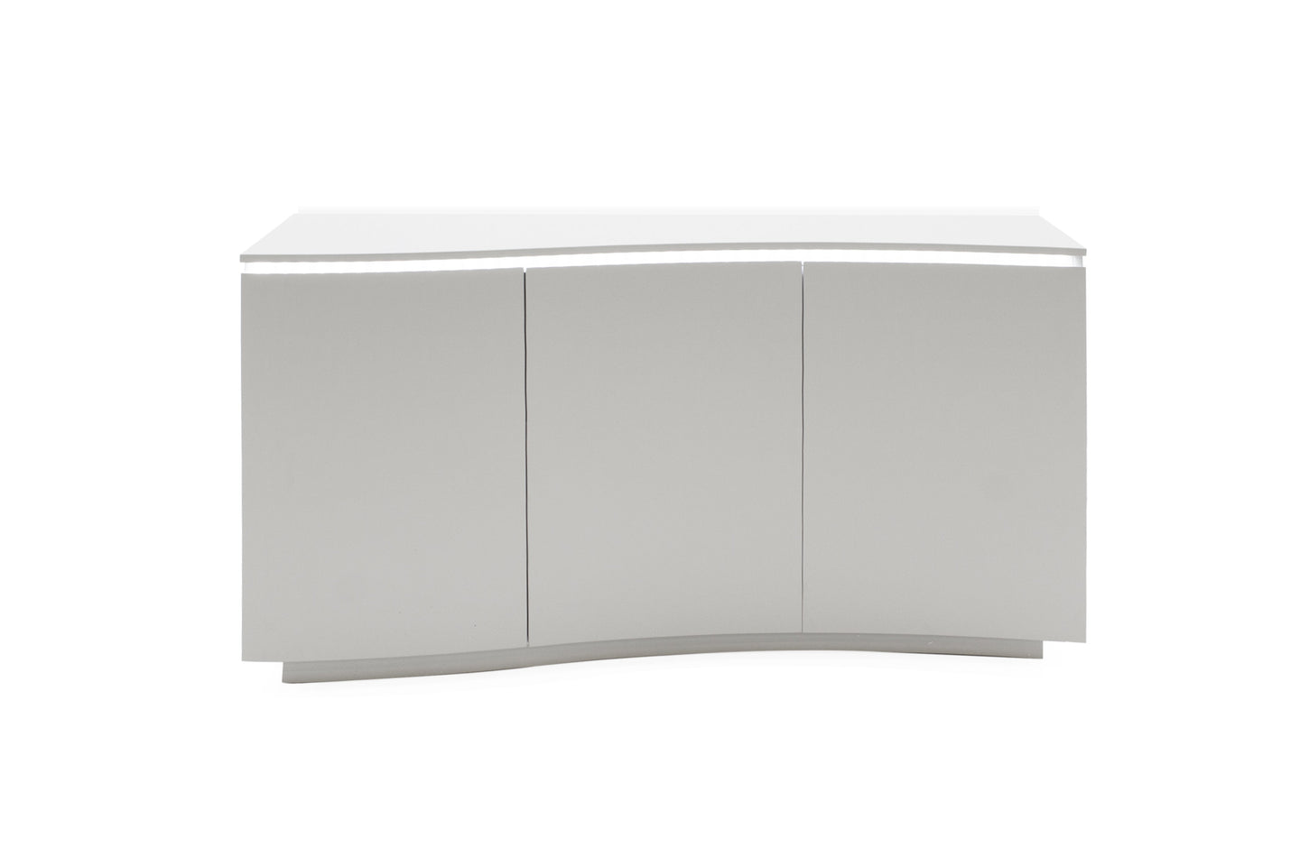 Lazzaro Sideboard - White Gloss with LED