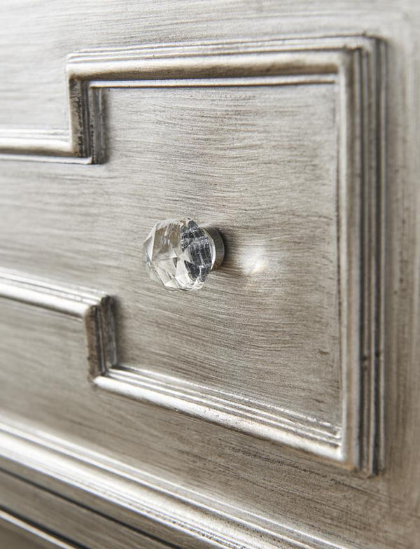 Ophelia 3 Drawer Bedside Table - AR Furnishings - Specialists In Bringing Luxury Into Your Home.
