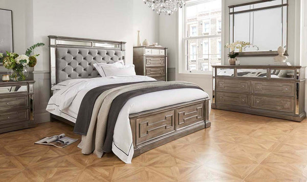 "Ophelia 5'0"" King Size Bed Frame - AR Furnishings - Specialists In Bringing Luxury Into Your Home."