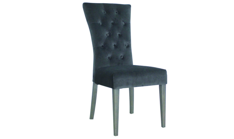 Pembroke Dining Chair - Charcoal - AR Furnishings