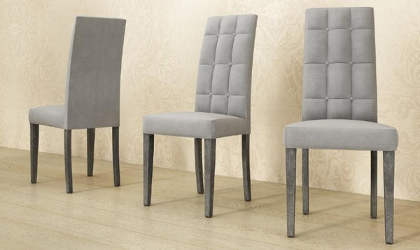 Sarah Grey Birch Italian Dining Chair - AR Furnishings - Specialists In Bringing Luxury Into Your Home.