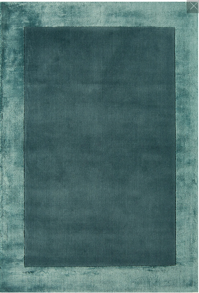 Ascot Rug - Aqua Blue - AR Furnishings - Specialists In Bringing Luxury Into Your Home.