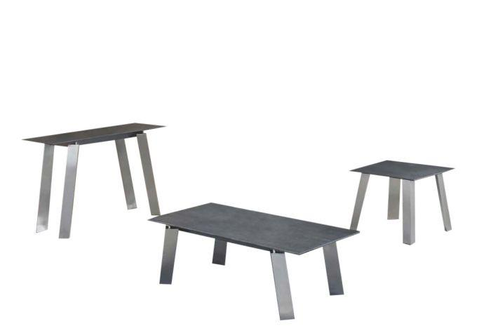 Agata Grey Ceramic Coffee Table - AR Furnishings - Specialists In Bringing Luxury Into Your Home.