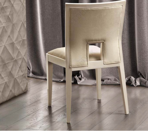 Ambra Sedia Sand Birch Finish Bedroom Chair - AR Furnishings - Specialists In Bringing Luxury Into Your Home.