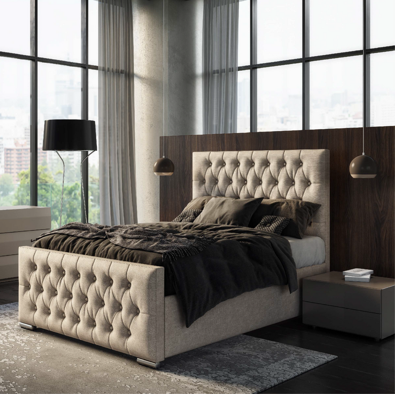 Jakarta Bed Frame - AR Furnishings - Specialists In Bringing Luxury Into Your Home.