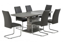 Load image into Gallery viewer, Argenta High Gloss 140-180cm Dining Set + 6 Monaco Chairs