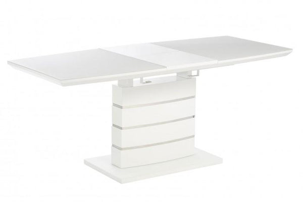 Erica White High Gloss Side Lamp Table