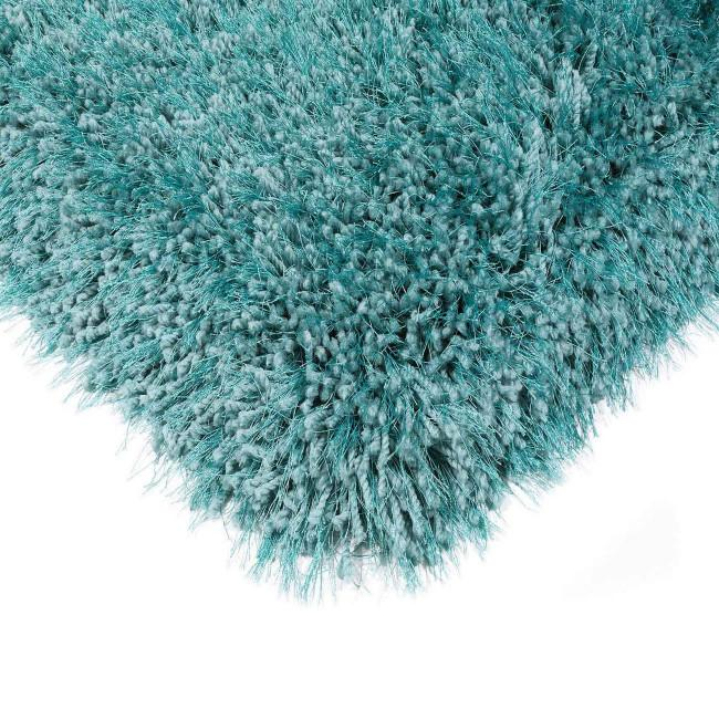 Cascade Cerulean Luxury Polyester Rug by Asiatic - AR Furnishings - Specialists In Bringing Luxury Into Your Home.