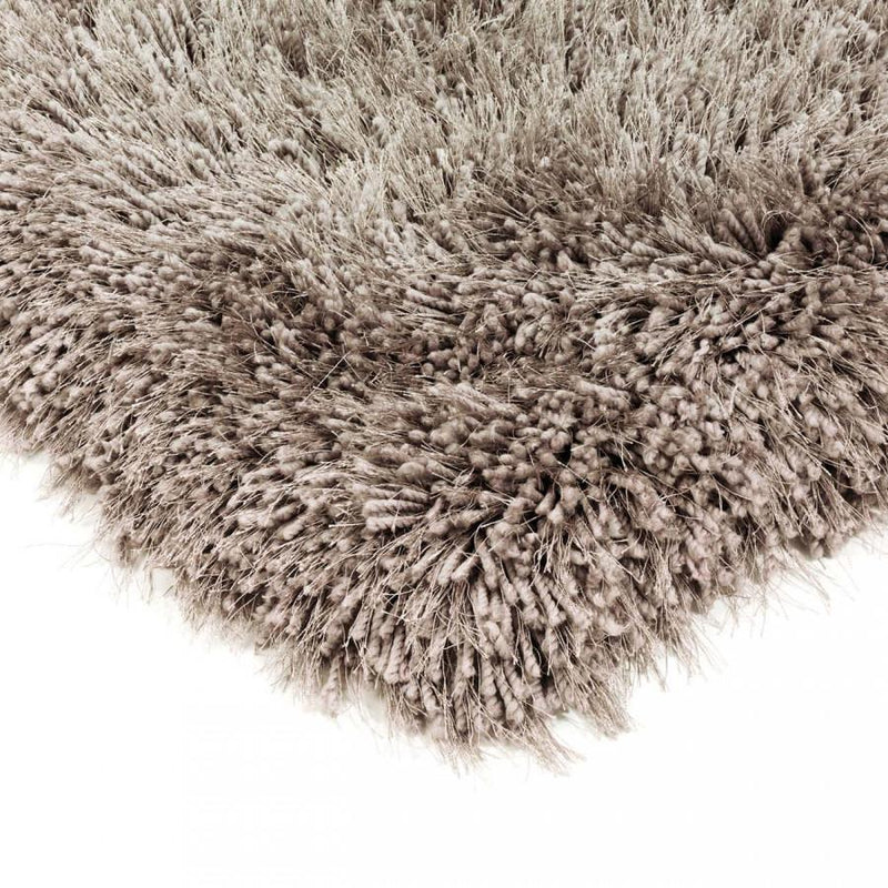 Cascade Mink Luxury Polyester Rug by Asiatic - AR Furnishings - Specialists In Bringing Luxury Into Your Home.