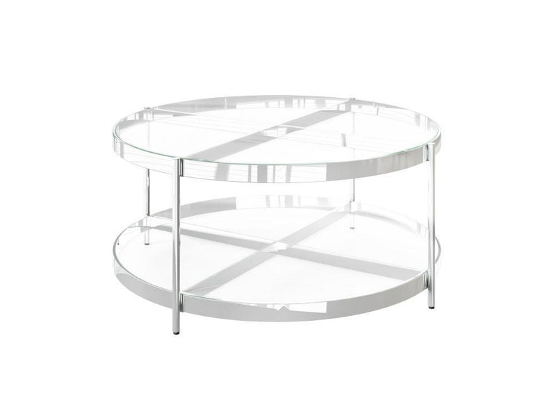 Omari Glass Coffee Table - AR Furnishings - Specialists In Bringing Luxury Into Your Home.