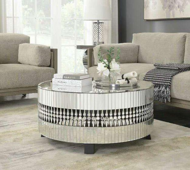 Crystal Coffee Table - AR Furnishings