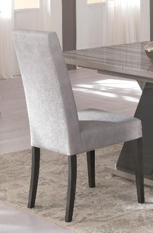 Glamour Leather Italian Dining Chair