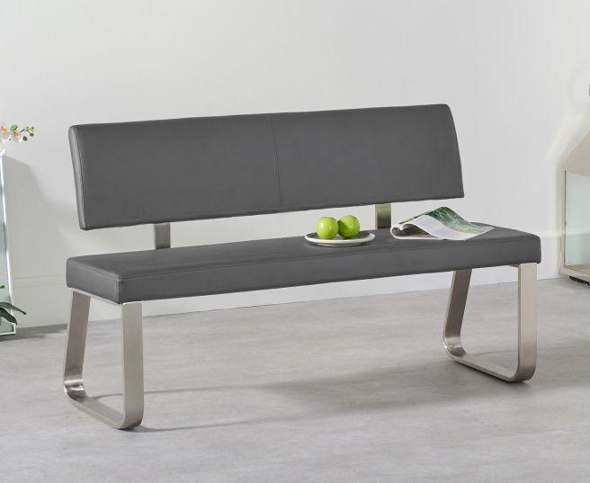 Malibu Bench with Back - 3 Sizes and Colours - AR Furnishings - Specialists In Bringing Luxury Into Your Home.