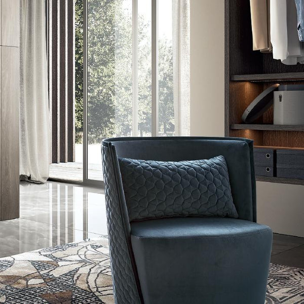 Maia Daytona Italian Quilt Stitch Armchair - AR Furnishings - Specialists In Bringing Luxury Into Your Home.
