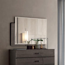 Load image into Gallery viewer, Maia Silver Birch High Gloss Rectangular Mirror Only - ImagineX Furniture & Interiors