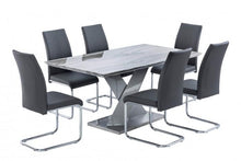 Load image into Gallery viewer, Merano 160cm Dining Table + 6 Monaco Chairs