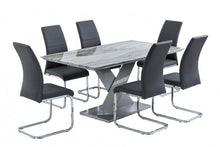 Load image into Gallery viewer, Merano 160cm Dining Table + 6 Soho Chairs