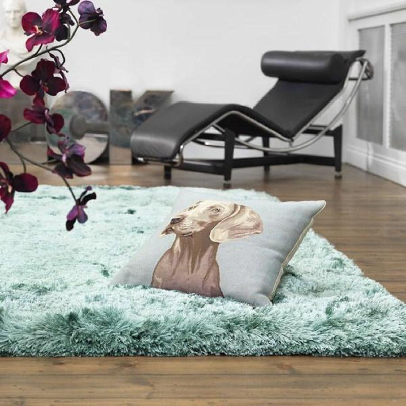 Plush Ocean Luxury Shaggy Polyester Rug by Asiatic - AR Furnishings - Specialists In Bringing Luxury Into Your Home.
