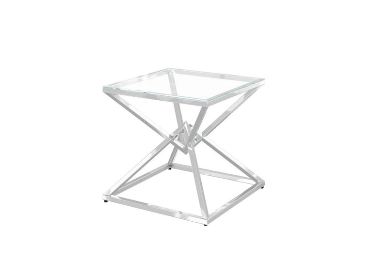Prism Glass Lamp Table - AR Furnishings - Specialists In Bringing Luxury Into Your Home.