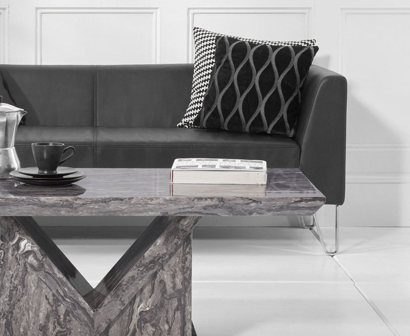 Minsk Grey Marble Coffee Table
