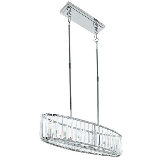 RV Astley Mai Chrome Ceiling Pendant