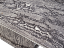 Load image into Gallery viewer, Casa Dark Grey Pedestal 200cm Marble Dining Table