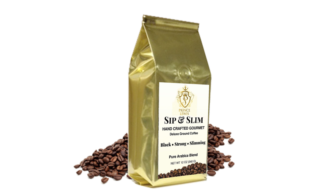 Sip & Slim Gourmet Deluxe Ground Coffee 1 Bag 12 oz