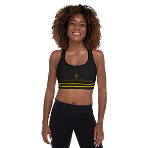 "Prince Lewis Iconic ""Every Body's Wellcome"" Padded Sports Bra"