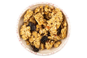 Gourmet Granola Cereal Poetry Candle Jar