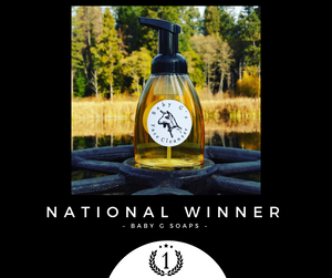 Baby G Soaps - 2018 Winner of ADGA National Competition!