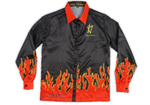 Satin Flames Long Sleeve