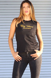 TV Gold Egyptian Cotton Tank Top