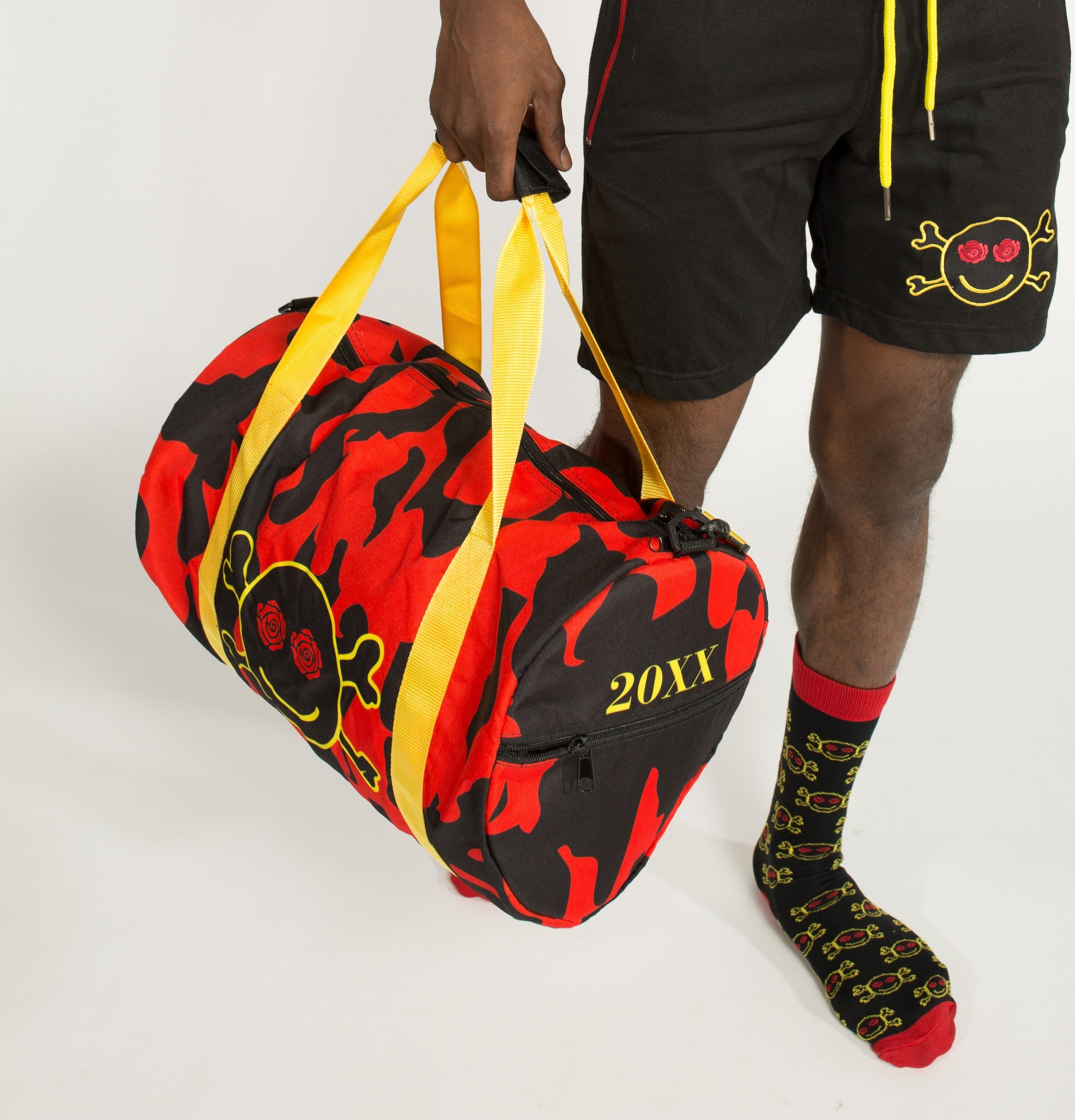 Red Camo 20XX Duffle Bag