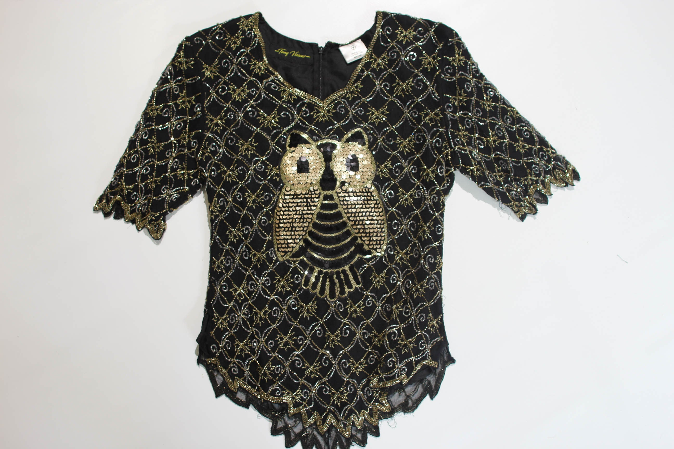 Gold Wired Owl