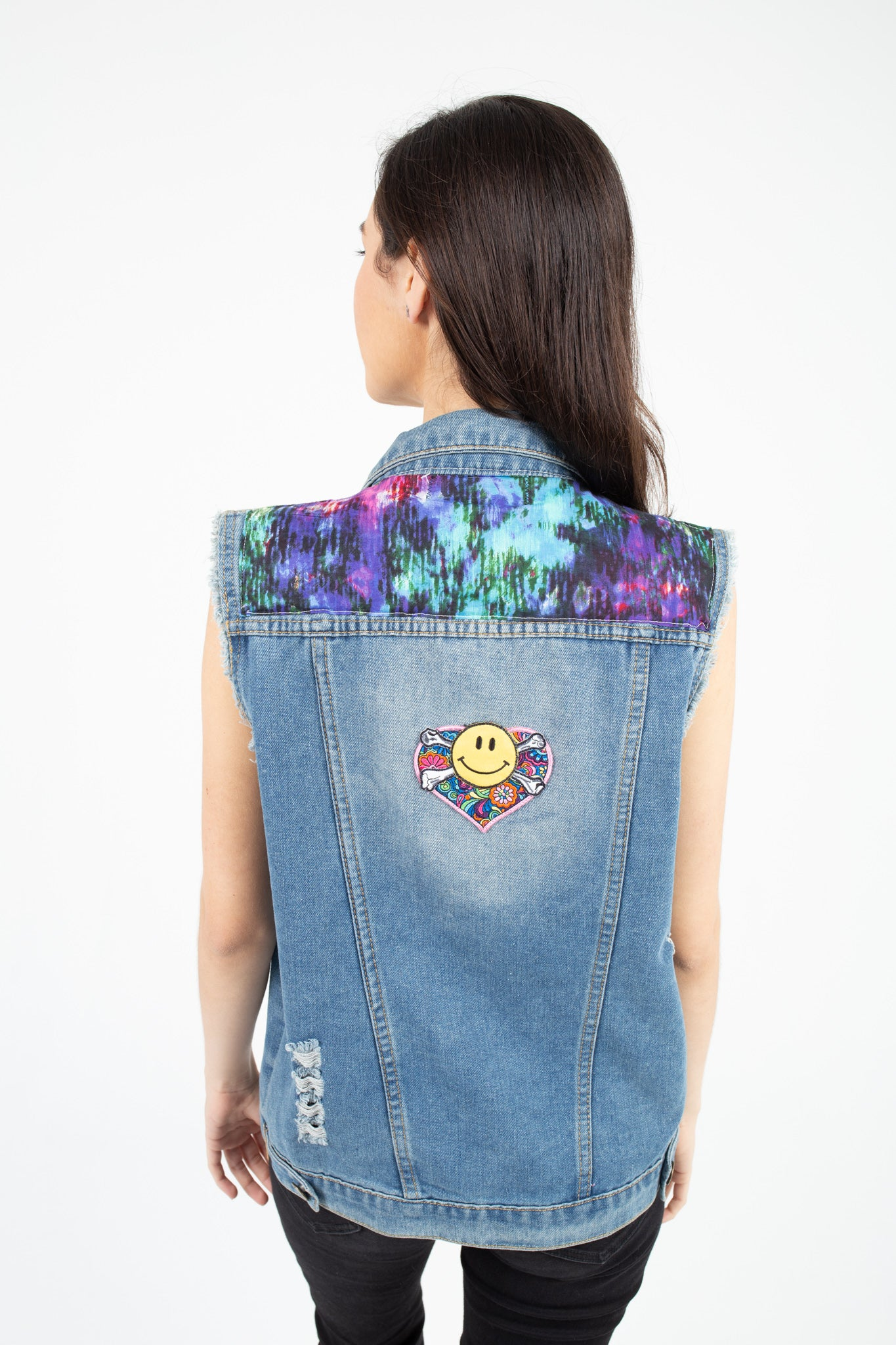 Women's Denim Custom Vest