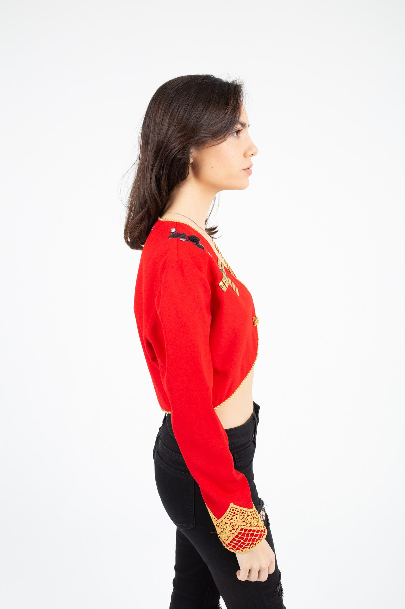 Red Visions Woman's Top