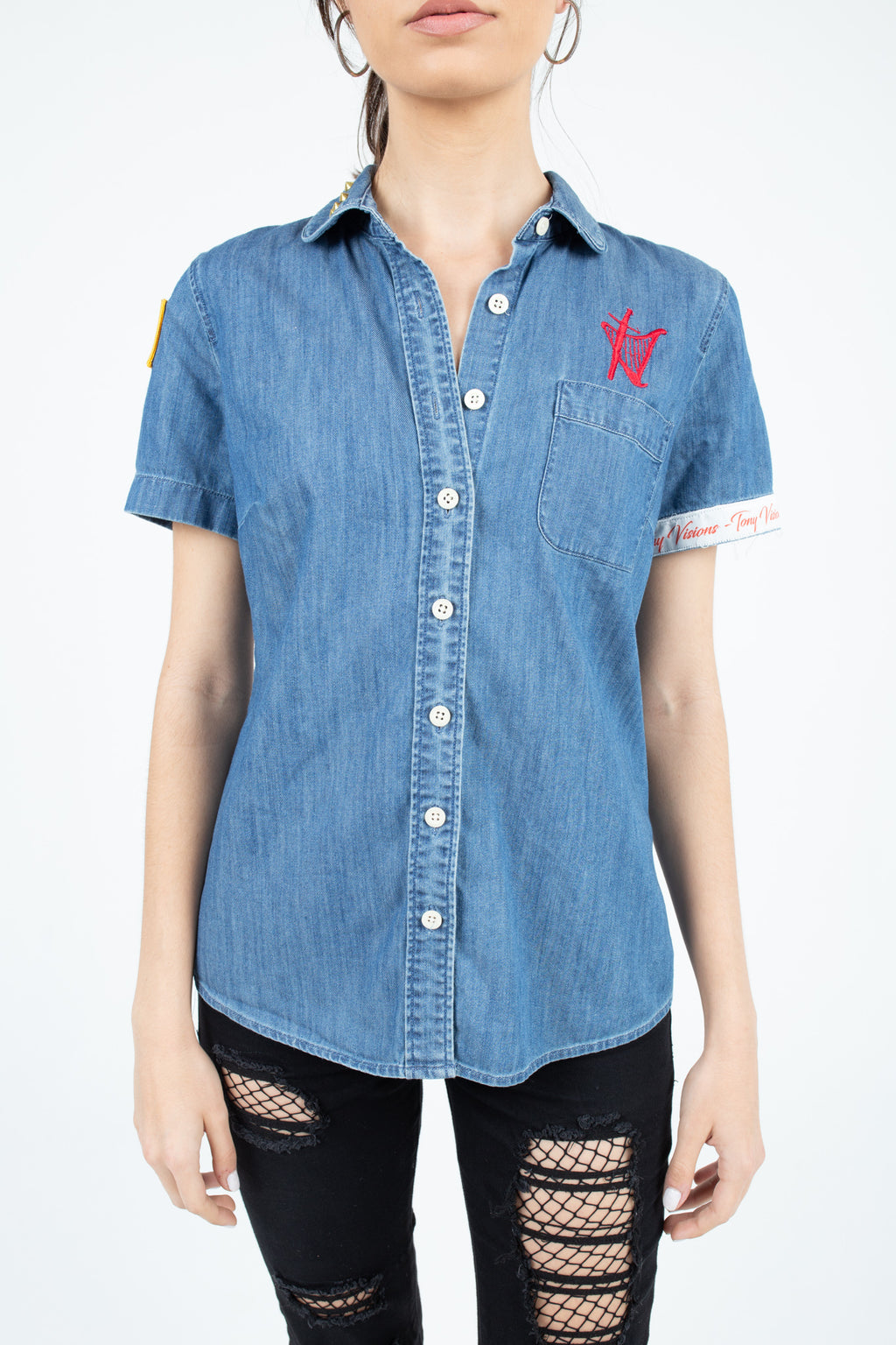 Denim Neutral Woman's Shirt