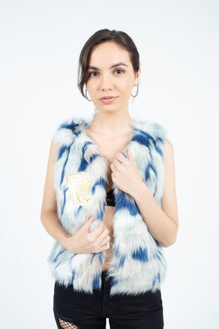 Electric Queen Fur Vest