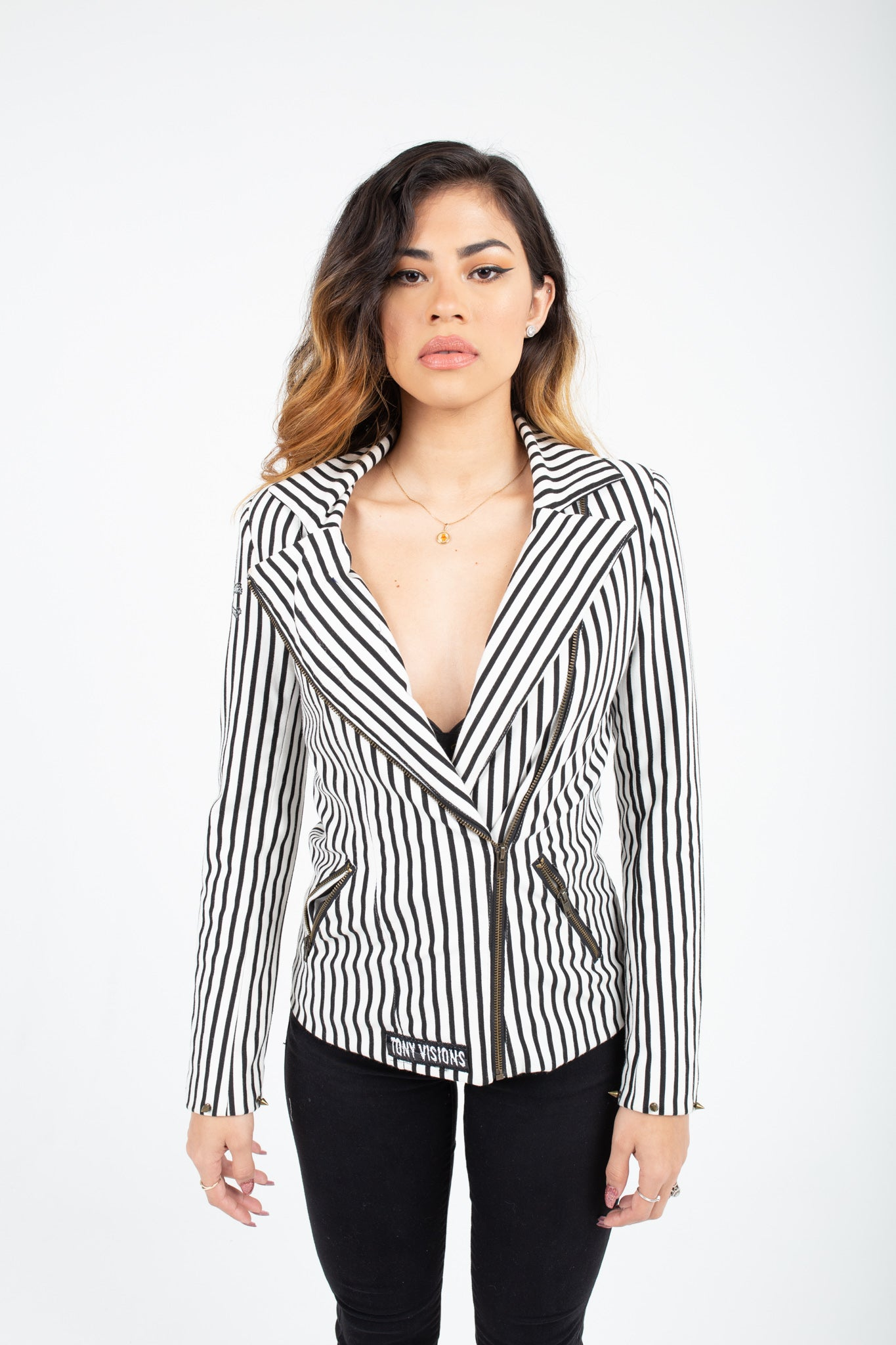 Skulls and Stripes blazer