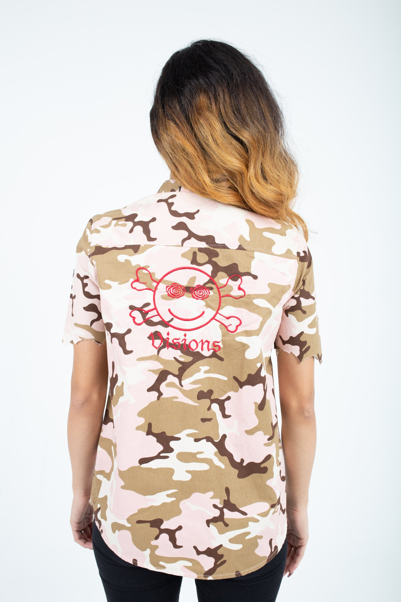 Woman's Camo Custom Shirt