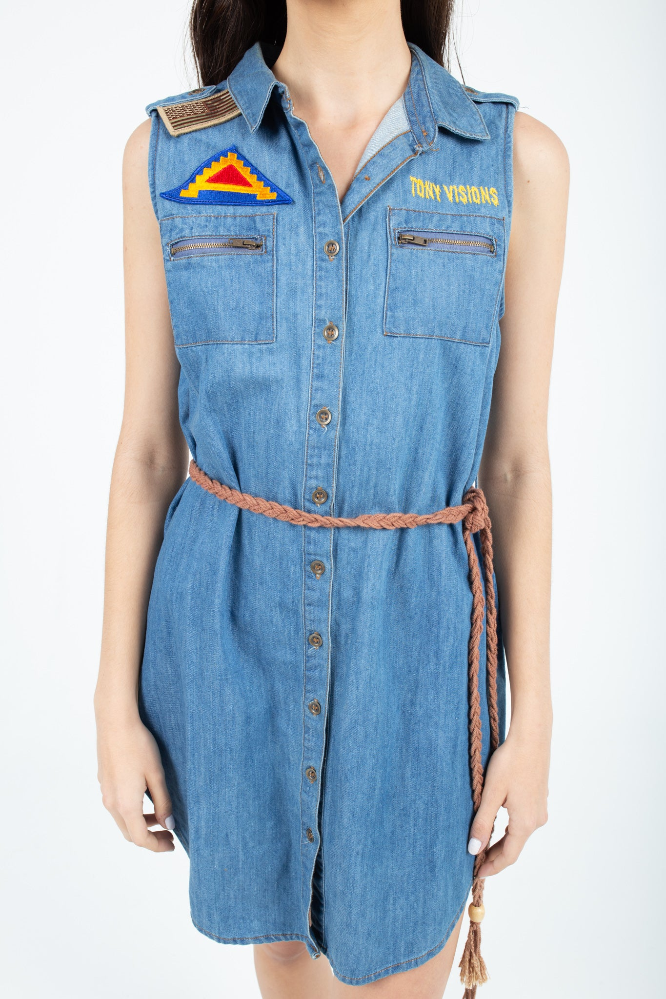 Def Leppard Edition Denim Dress