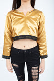 Golden Crop Top