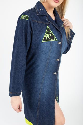 Vitality Denim Trench Coat