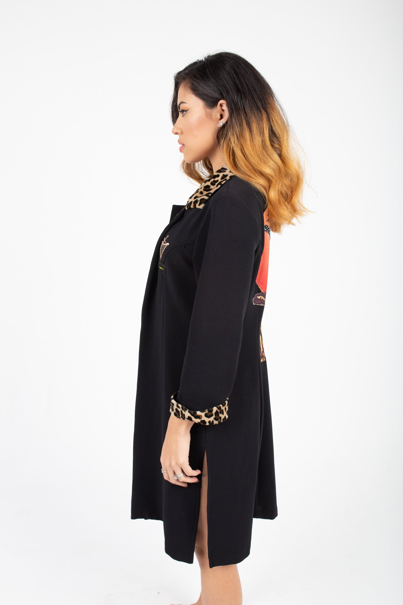 Leopard Lady Trench