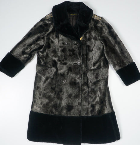 Heavy Faux Fur Unisex Coat