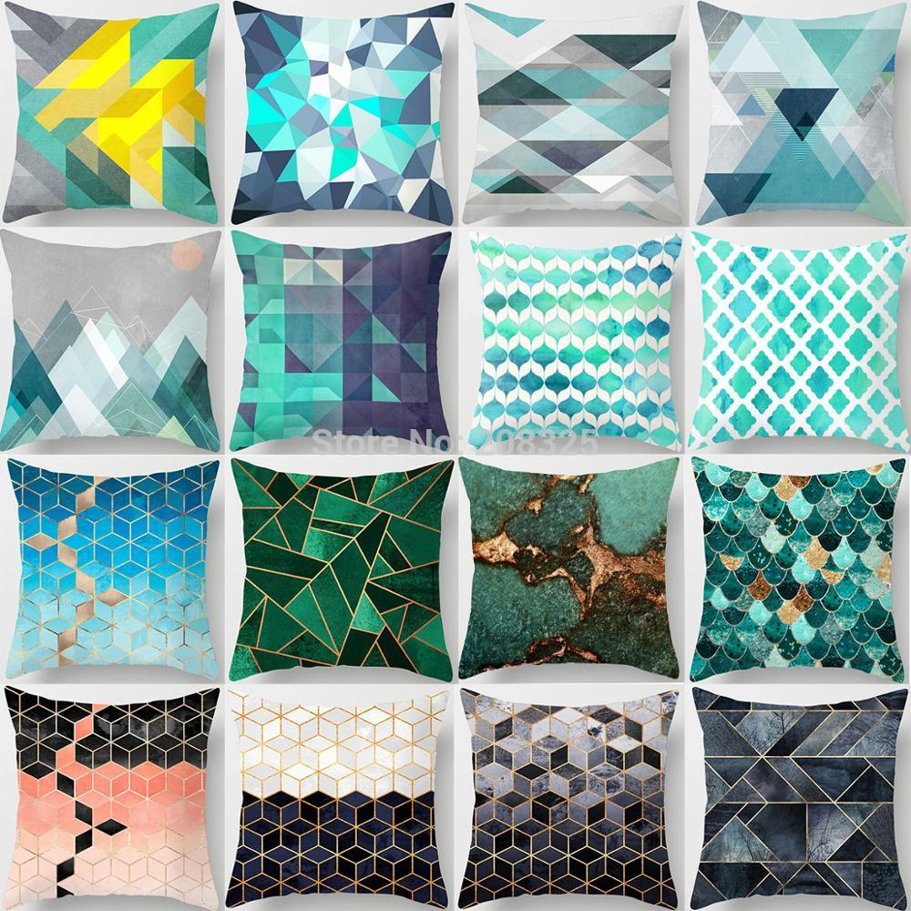 Geometric Cushion Covers - Earth Ark Boutique