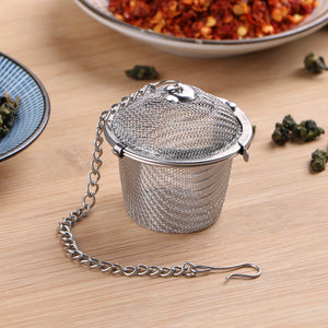 Reusable Stainless Steel Loose Tea Strainer - Earth Ark Boutique